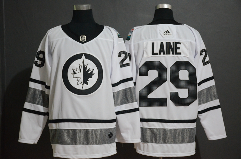 Winnipeg Jets 29 Patrik Laine White 2019 NHL All-Star Adidas Jersey