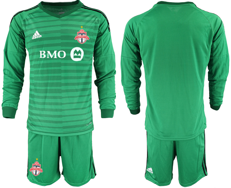 2018-19 Toronto FC Green Long Sleeve Soccer Jersey
