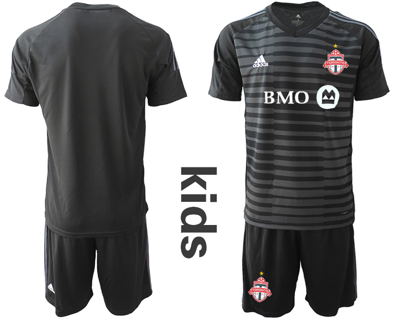 2018-19 Toronto FC Black Youth Goalkeeper Soccer Jersey