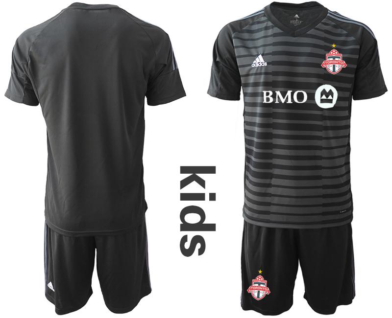 2018-19 Toronto FC Black Youth Goalkeeper Soccer Jersey