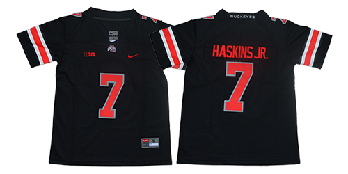 Ohio State Buckeyes 7 Dwayne Haskins Jr. Black Youth College Football Jersey
