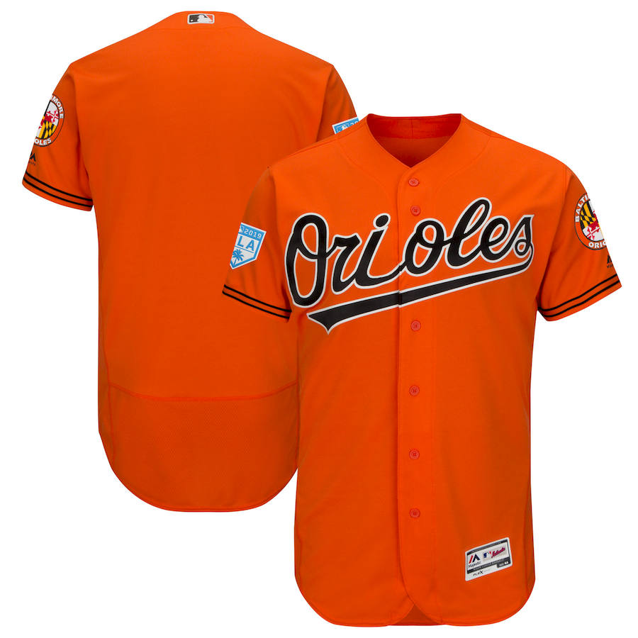Orioles Orange 2019 Spring Training Flexbase Jersey