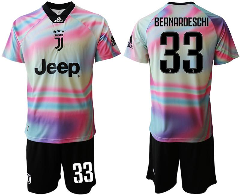2018-19 Juventus 33 BERNARDESCHI Maglia EA SPORTS Soccer Jersey
