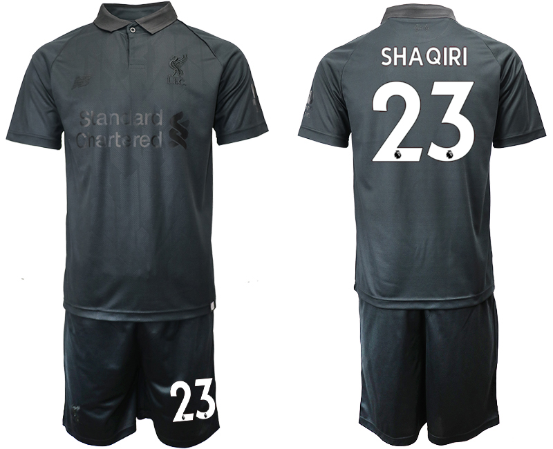 2018-19 Liverpool 23 SHAQIRI Black Goalkeeper Soccer Jersey