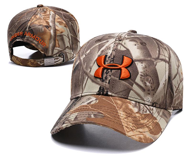 Under Armour Fresh Logo Camo Peaked Adjustable Hat TX