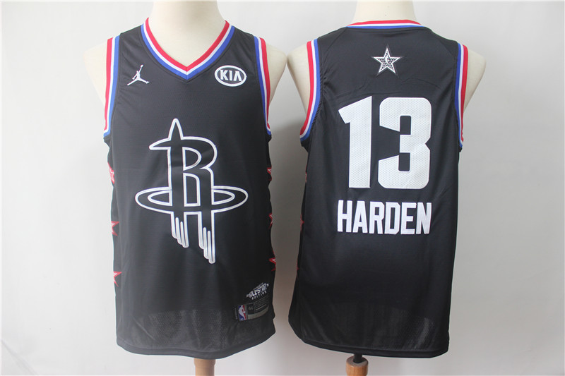 Rockets 13 James Harden Black 2019 NBA All-Star Game Jordan Brand Swingman Jersey