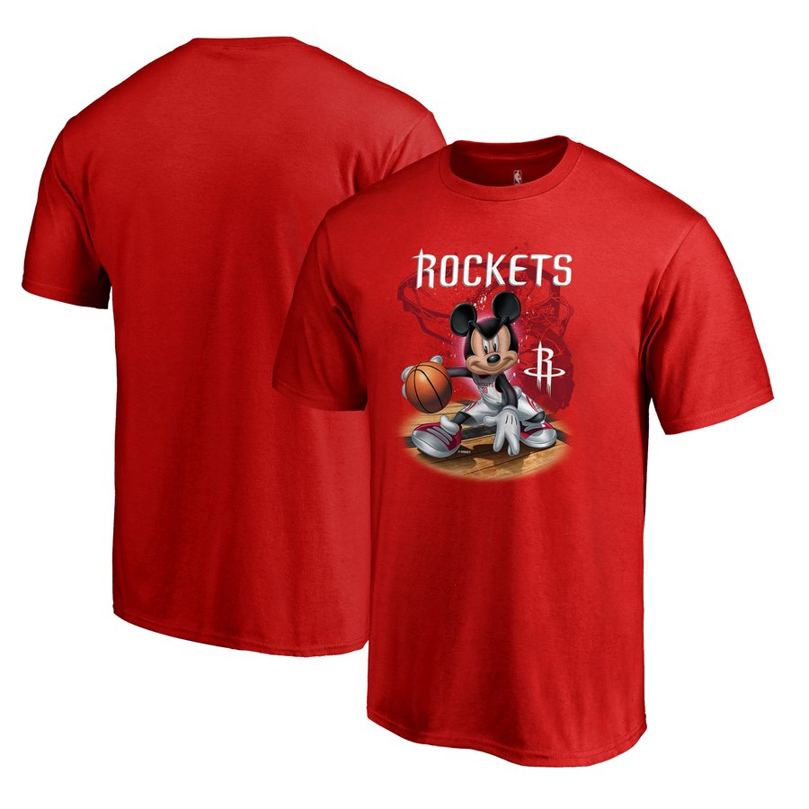 Houston Rockets Fanatics Branded Disney NBA All-Star T-Shirt Red