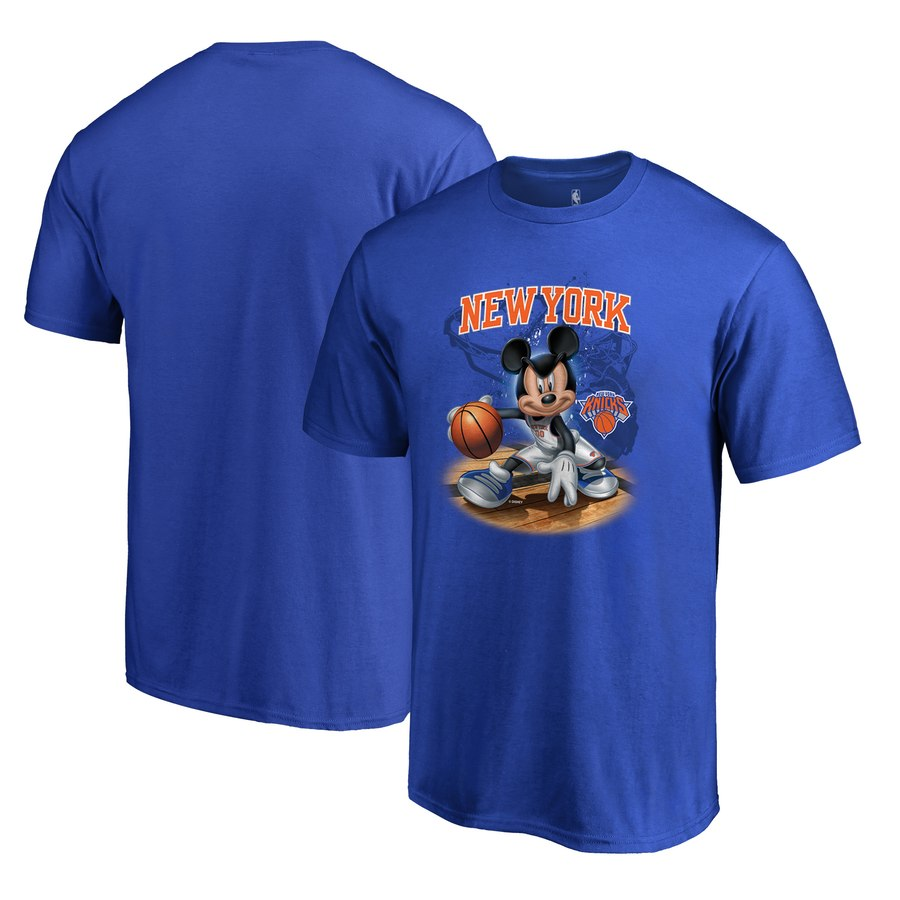 New York Knicks Fanatics Branded Disney NBA All-Star T-Shirt Blue