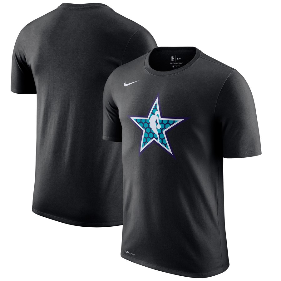 Nike 2019 NBA All-Star Weekend Logo Performance T-Shirt Black