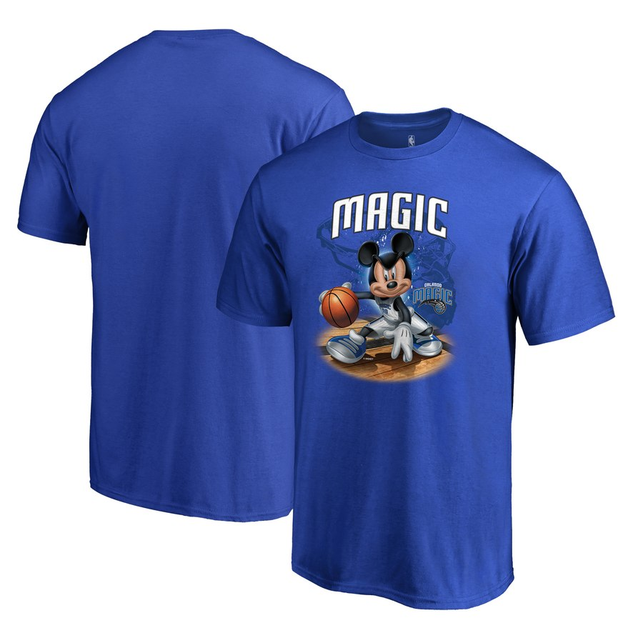 Orlando Magic Fanatics Branded Disney NBA All-Star T-Shirt Blue