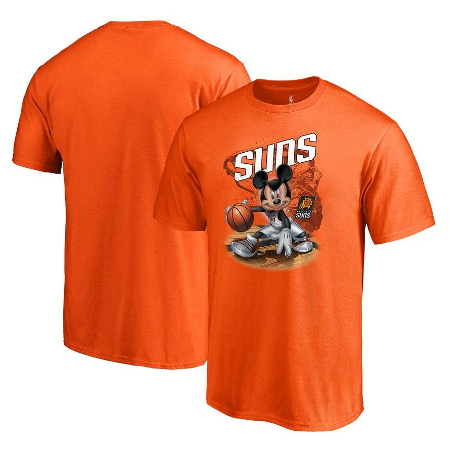 Phoenix Suns Fanatics Branded Disney NBA All-Star T-Shirt Orange