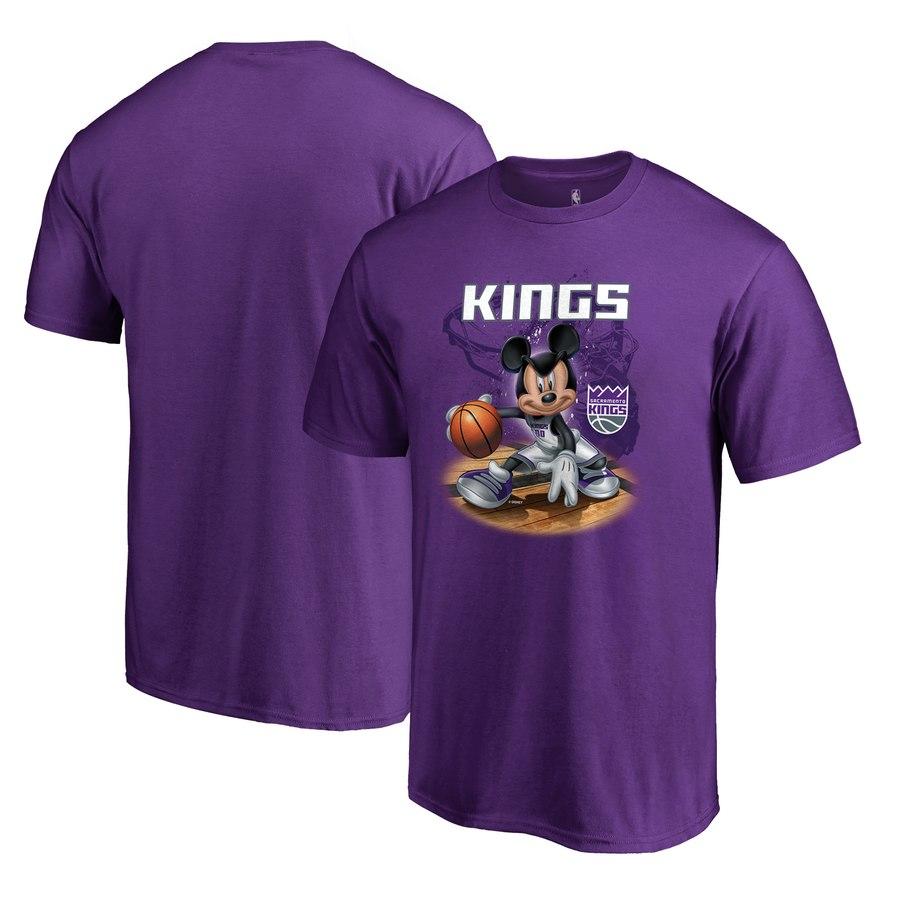 Sacramento Kings Fanatics Branded Disney NBA All-Star T-Shirt Purple
