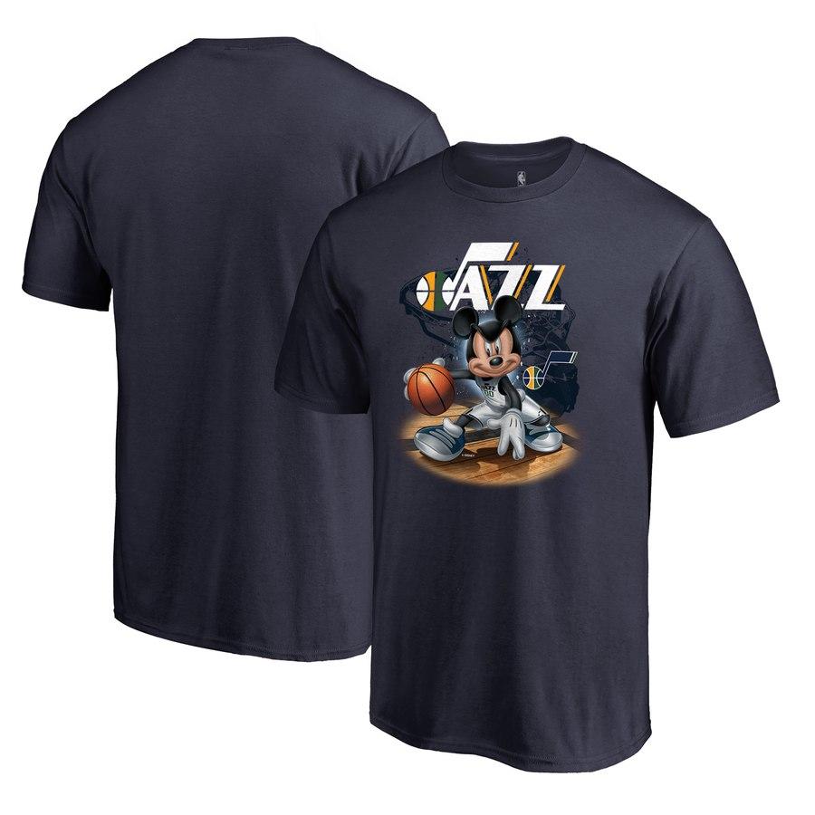 Utah Jazz Fanatics Branded Disney NBA All-Star T-Shirt Navy