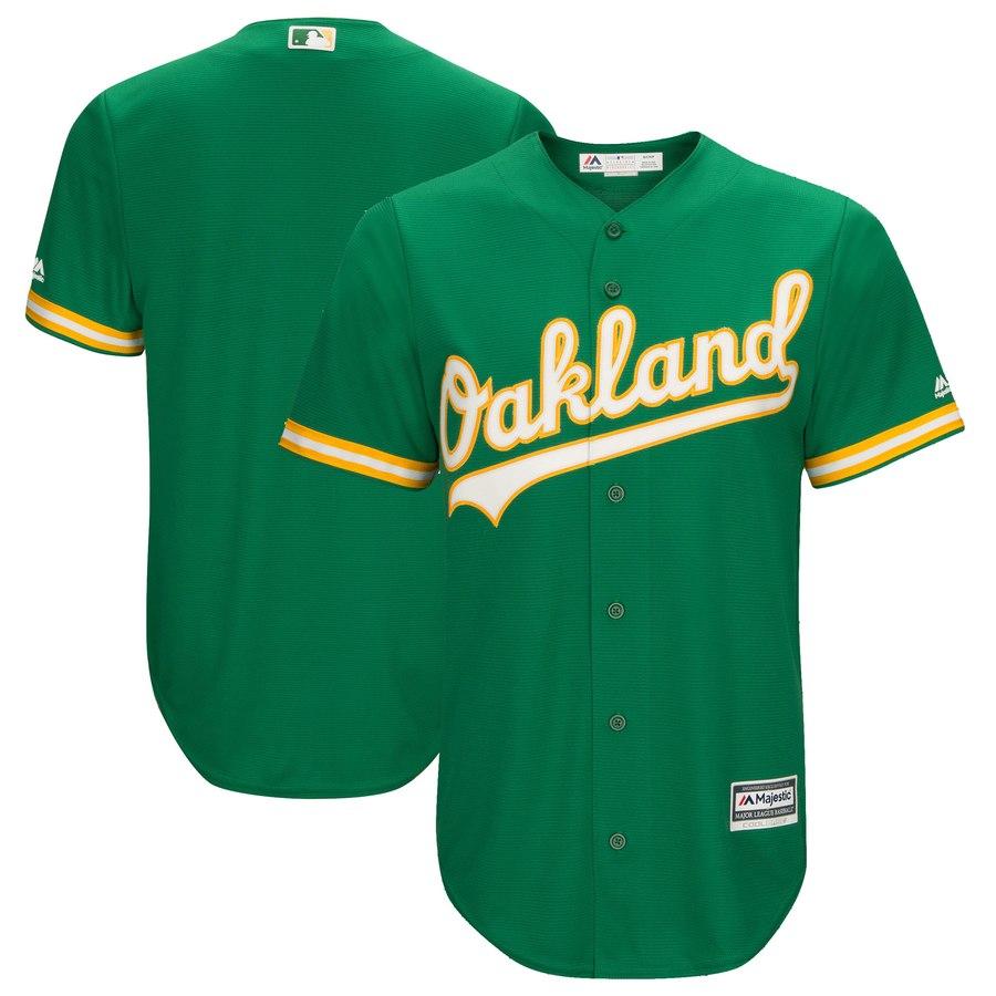 Athletics Blan Kelly Green Cool Base Jersey