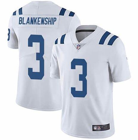 Nike Colts 3 Rodrigo Blankenship White Vapor Untouchable Limited Jersey
