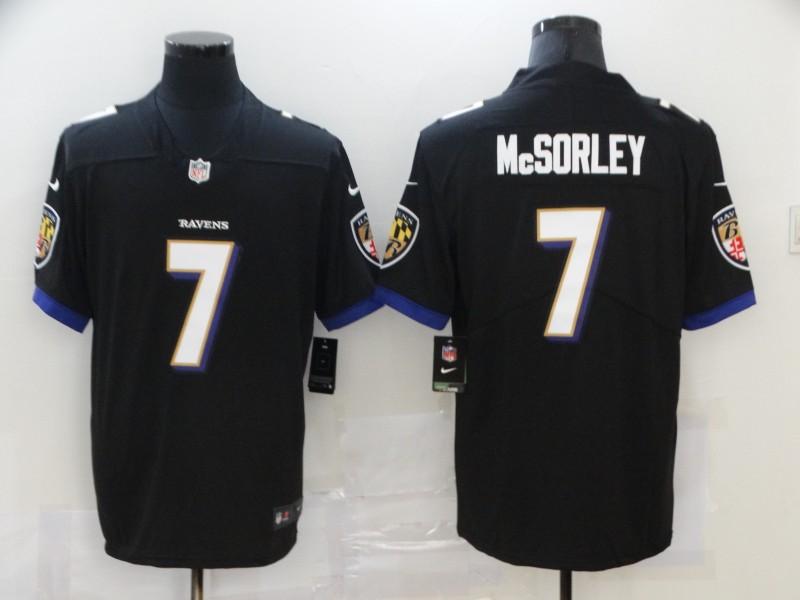 Nike Ravens 7 Trace McSorley Black Vapor Untouchable Limited Jersey
