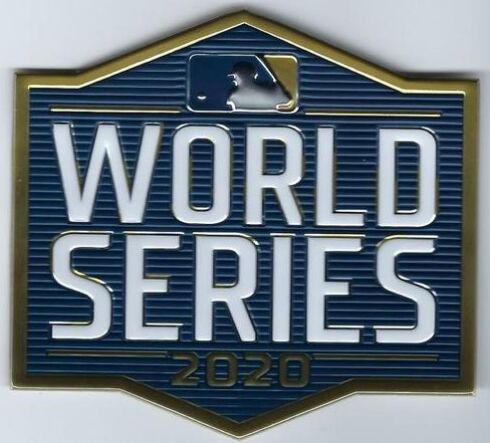 MLB Baseball 2020 World Series Patch