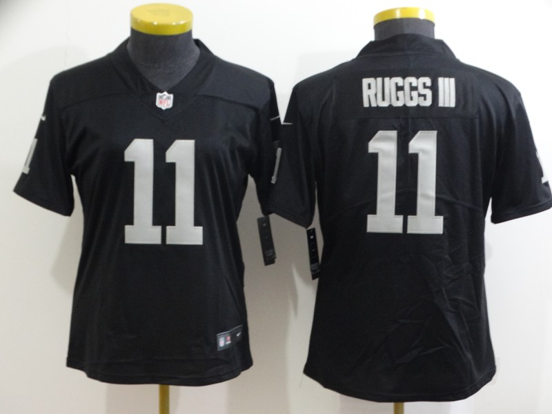 Nike Raiders 11 Henry Ruggs III Black Women Vapor Untouchable Limited Jersey