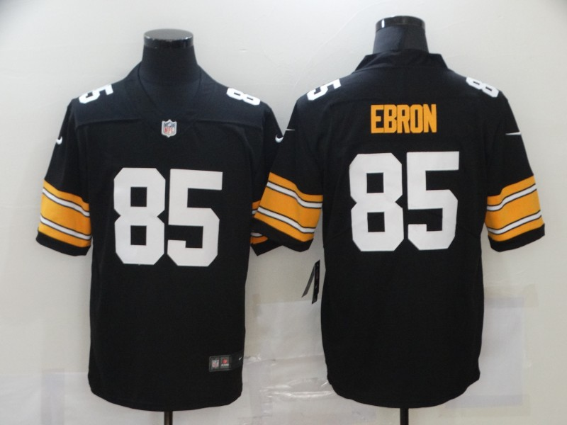 Nike Steelers 85 Eric Ebron Black Vapor Untouchable Limited Jersey