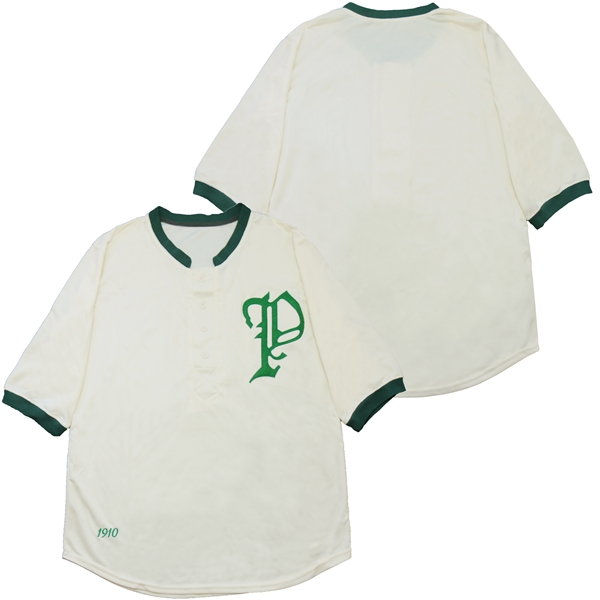 Tigers Blank Cream 1910 Throwback Jersey