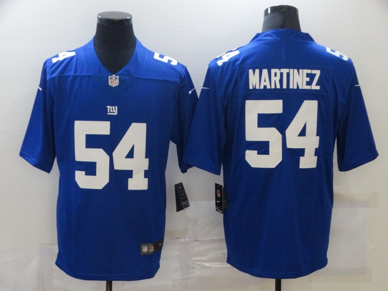 Nike Giants 54 Blake Martinez Royal Vapor Untouchable Limited Jersey
