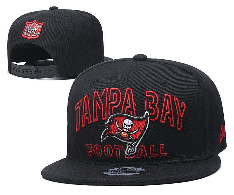 Buccaneers Team Logo Black Adjustable Hat YD