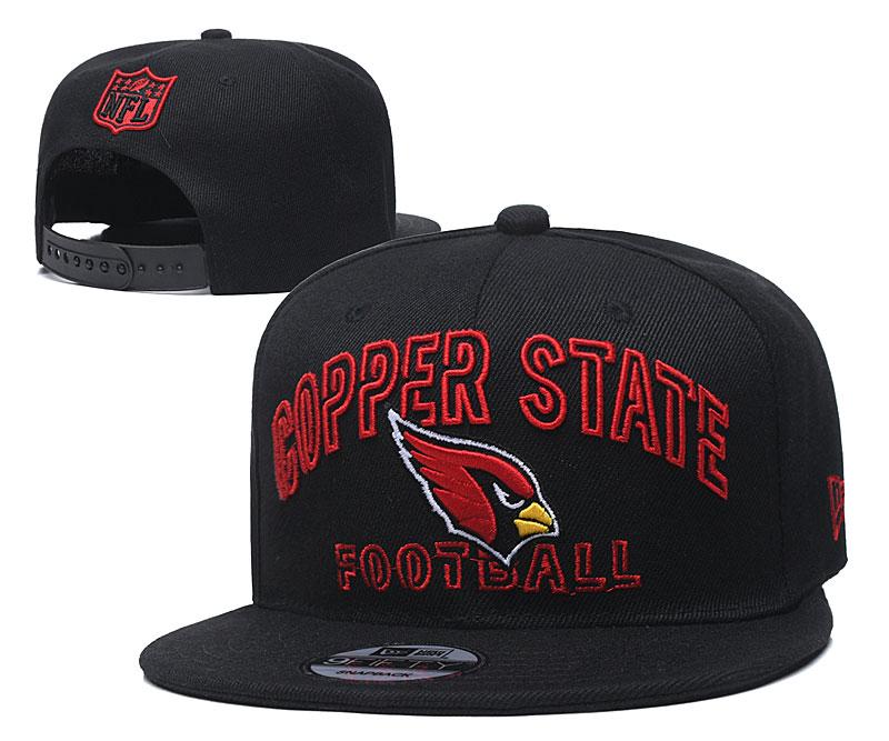 Cardinals Team Logo Black Adjustable Hat YD