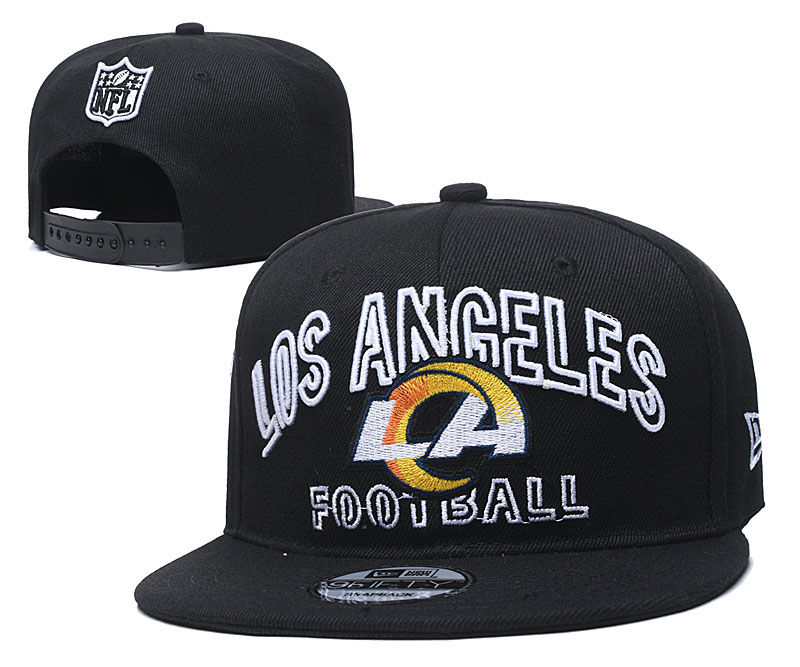 Chargers Team Logo Black Adjustable Hat YD
