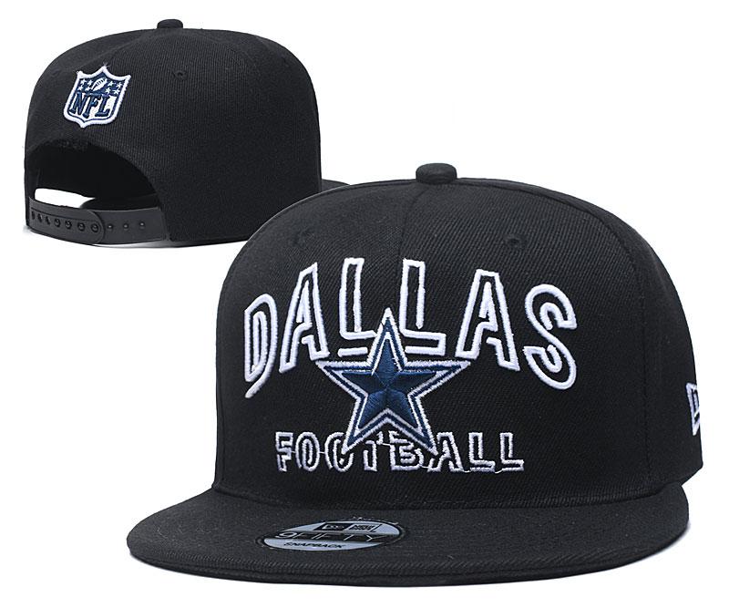 Cowboys Team Logo Navy Adjustable Hat YD