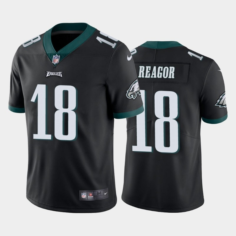 Nike Eagles 18 Jalen Reagor Black 2020 NFL Draft First Round Pick Vapor Untouchable Limited Jersey