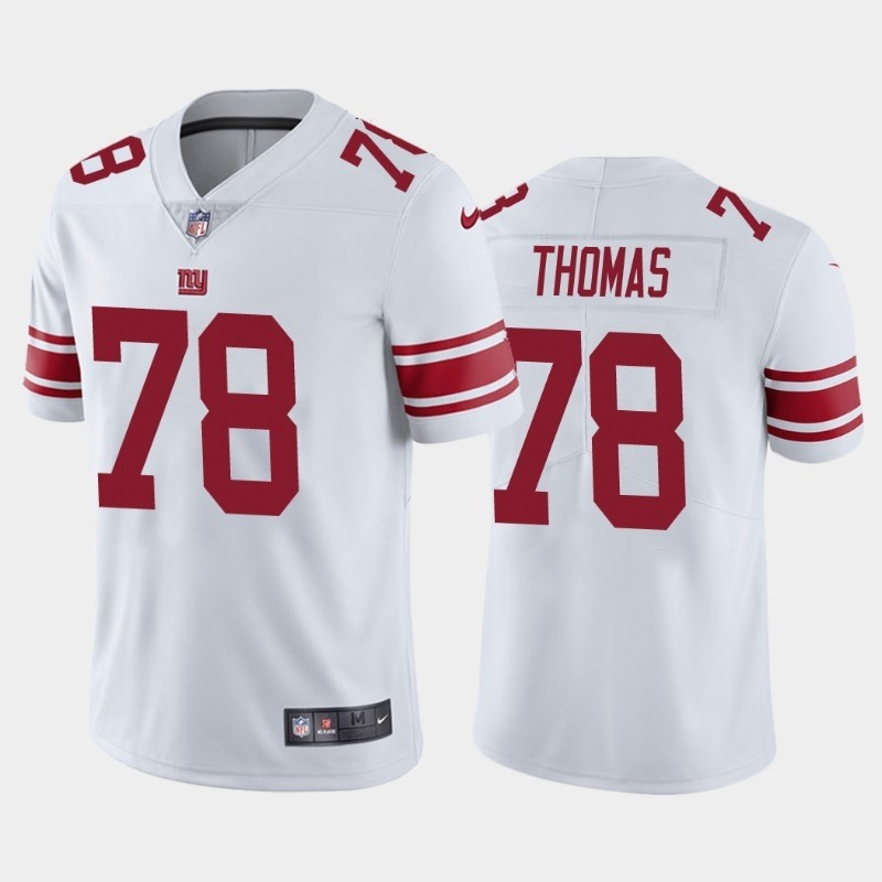 Nike Giants 78 Andrew Thomas White 2020 NFL Draft First Round Pick Vapor Untouchable Limited Jersey
