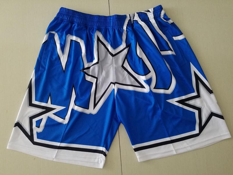 Magic Blue Big Face With Pocket Swingman Shorts