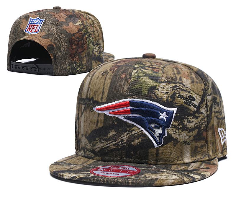 Patriots Team Logo Olive Adjustable Hat LH