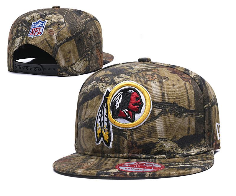 Redskins Team Logo Olive Adjustable Hat LH