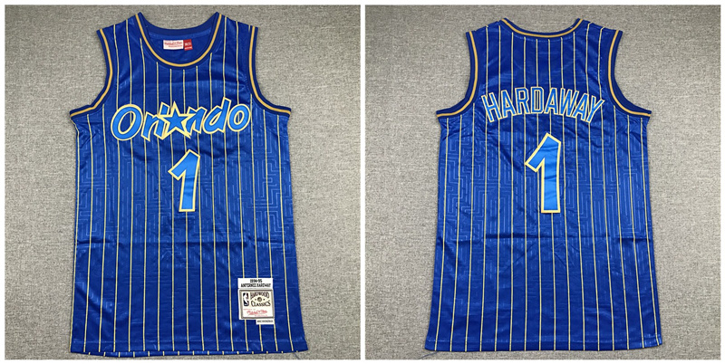 Magic 1 McGrady Blue 1994-95 Hardwood Classics Jersey