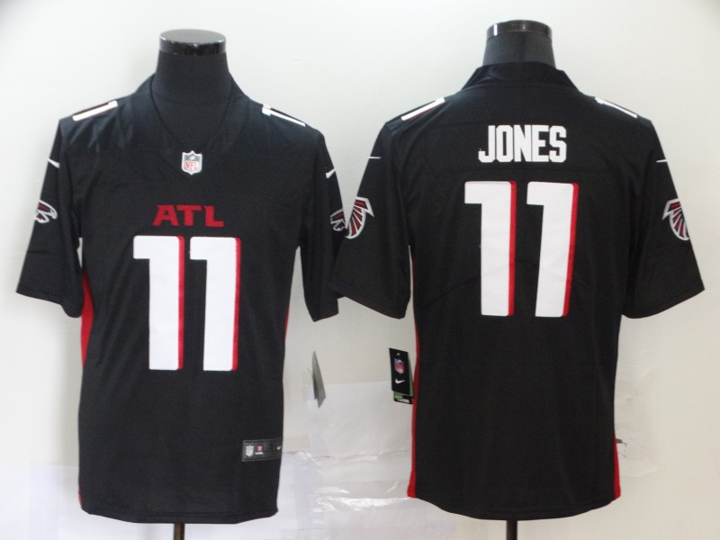 Nike Falcons 11 Julio Jones Black New Vapor Untouchable Limited Jersey