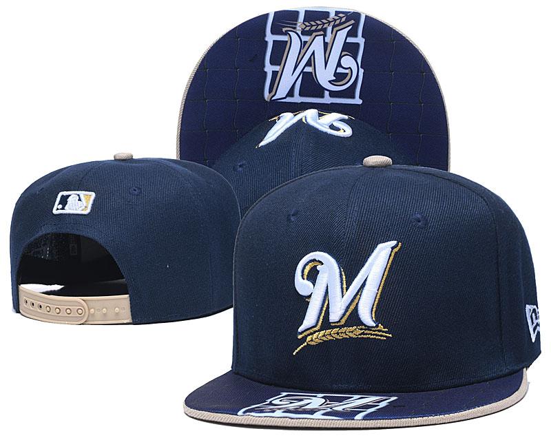 Marlins Team Logo Navy Adjustable Hat TX