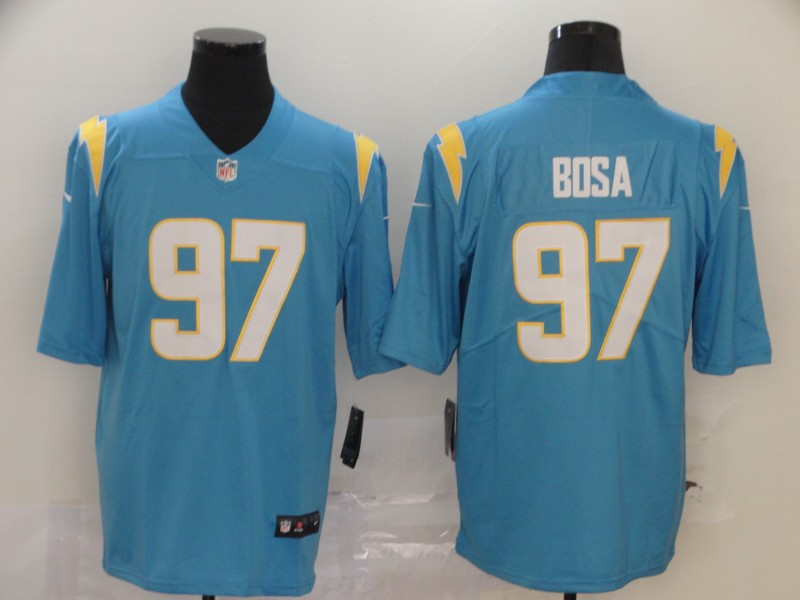 Nike Chargers 97 Joey Bosa Blue 2020 New Vapor Untouchable Limited Jersey