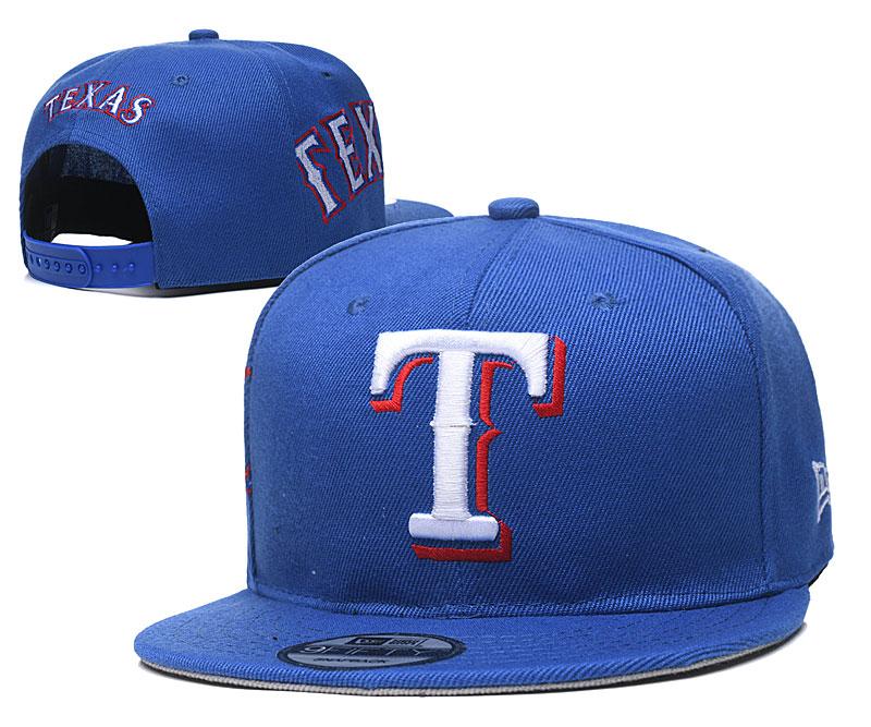 Rangers Team Logo Royal Adjustable Hat YD