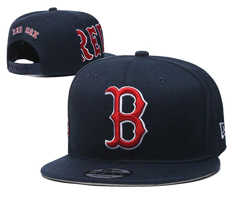 Red Sox Fresh Logo Navy Adjustable Hat YD