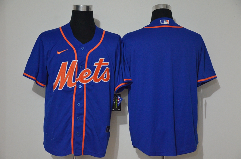 Mets Blank Royal Nike 2020 Cool Base Jersey