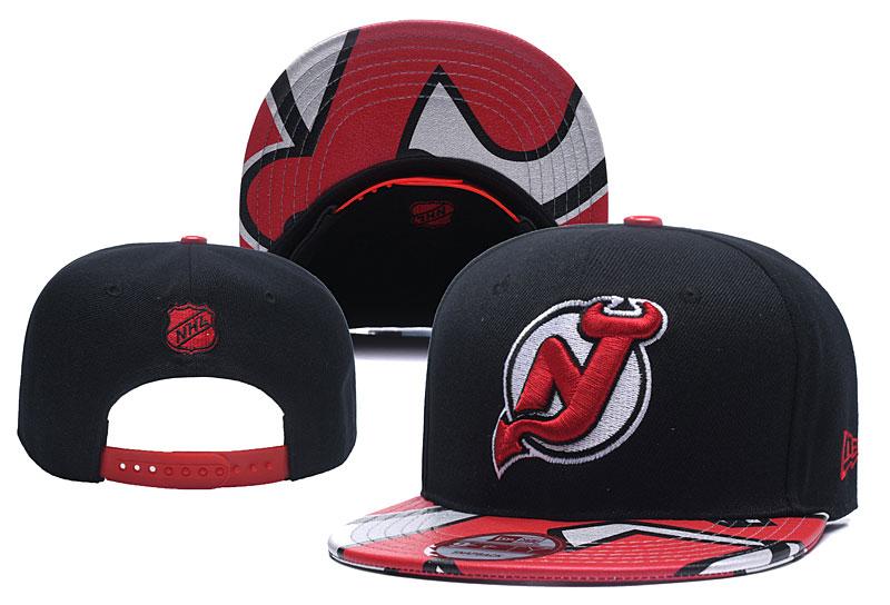 Devils Team Logo Black Adjustable Hat YD