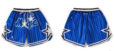 Magic Blue Just Don With Pocket Swingman Shorts