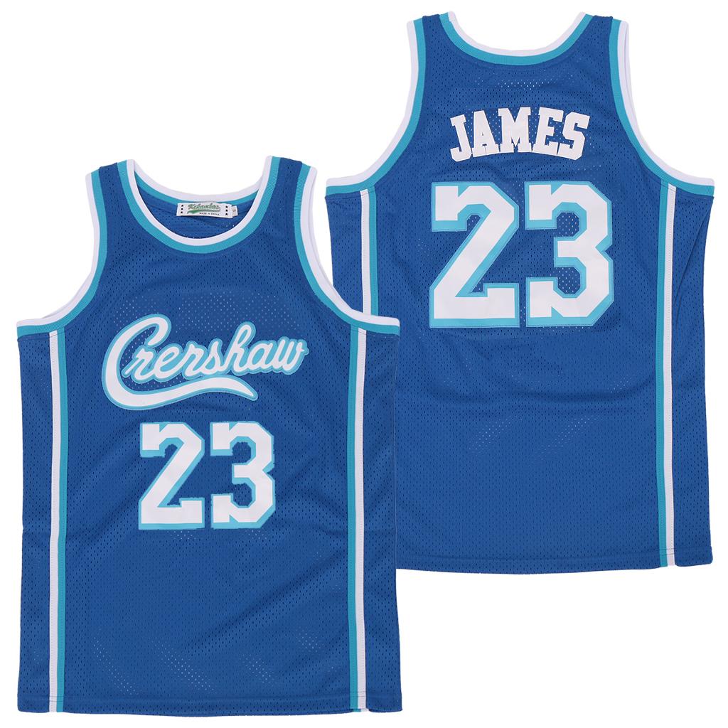 Lakers 23 Lebron James Light Blue Swingman Jersey