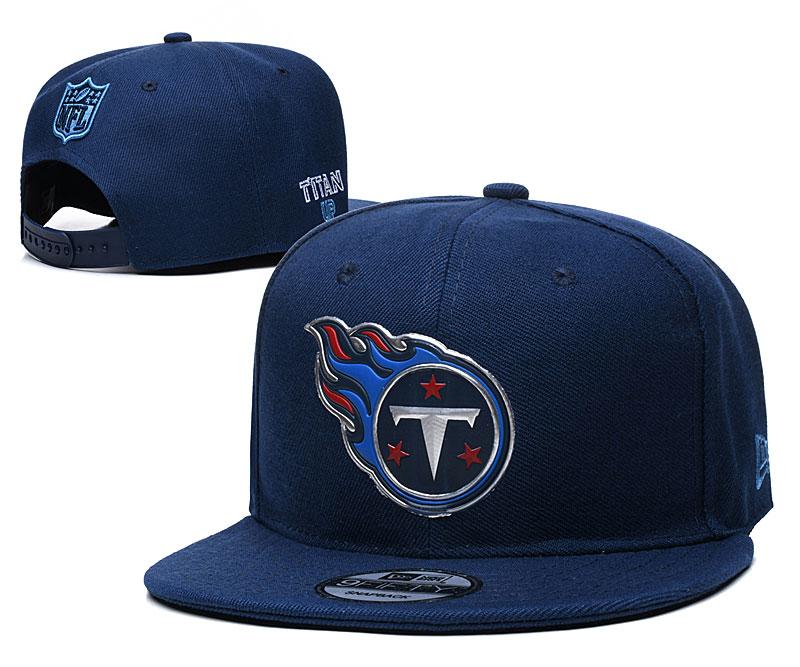 Titans Team Logo Navy Adjustable Hat YD