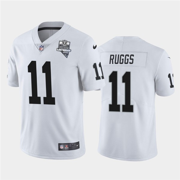 Nike Raiders 11 Henry Ruggs White 2020 Inaugural Season Vapor Untouchable Limited Jersey