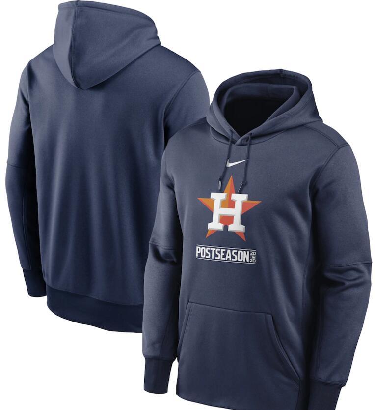Men's Houston Astros Nike Navy 2020 Postseason Collection Pullover Hoodie