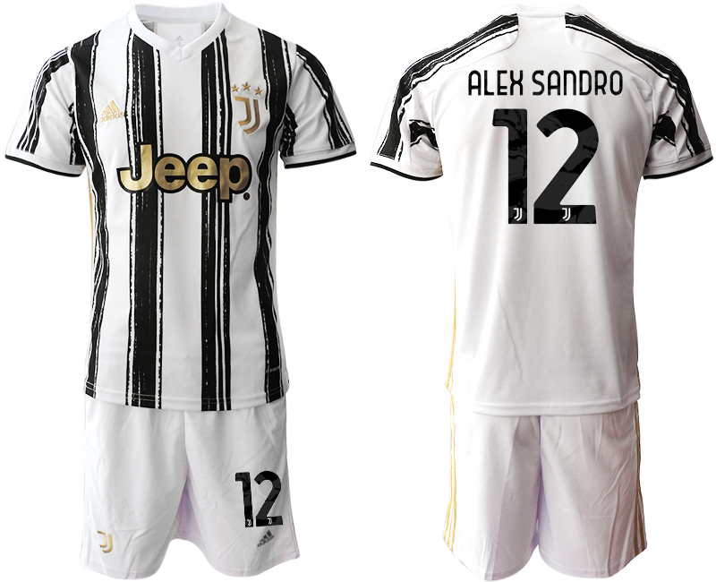 2020-21 Juventus 12 ALEX SANDRO Home Soccer Jersey