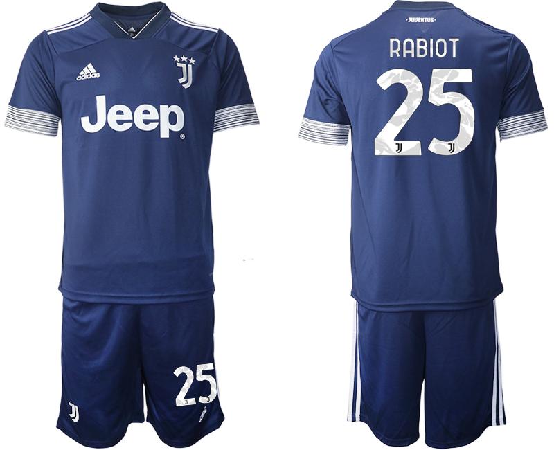 2020-21 Juventus 25 RABIOT Away Soccer Jersey