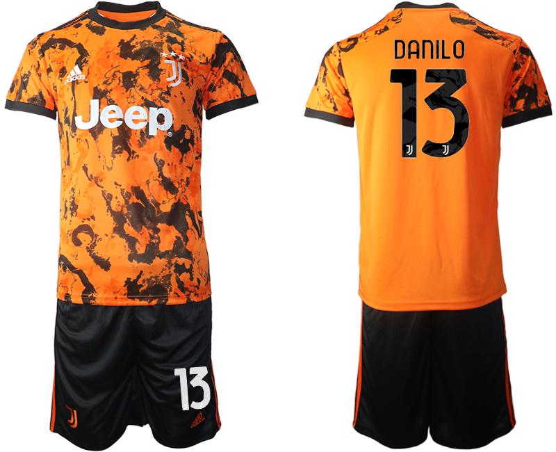 2020-21 Juventus DANILO Third Away Soccer Jersey